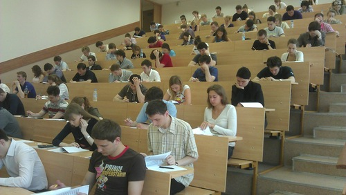 CFA Russia - Live Mock Exam in Moscow held on May, 19th
